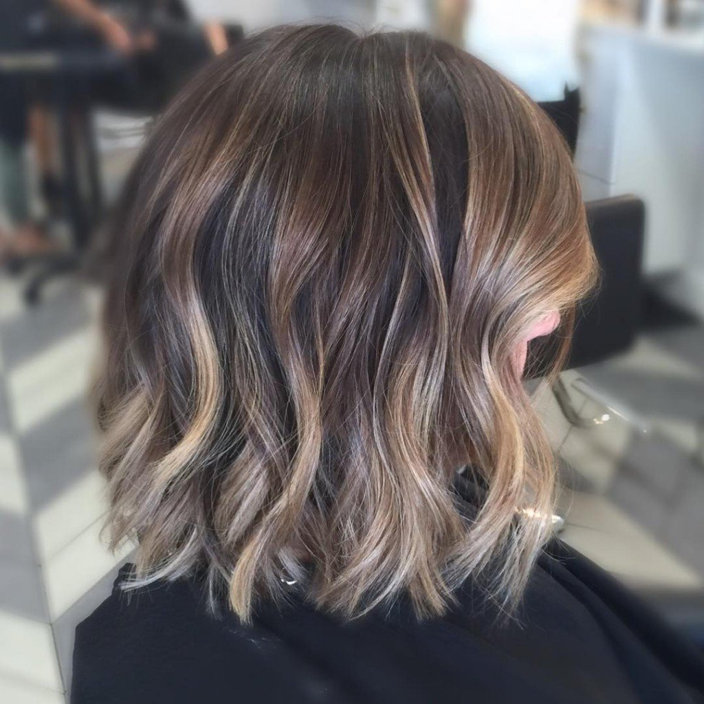 Caramel Balayage Hair Color