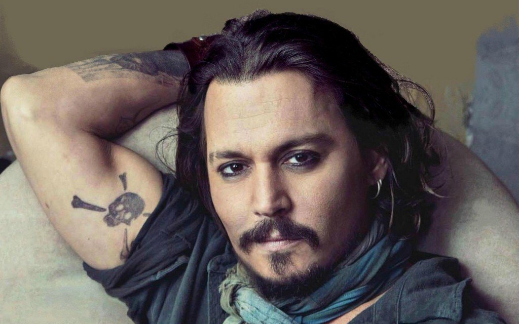 Johnny Depp's Captain Jack Beard Style