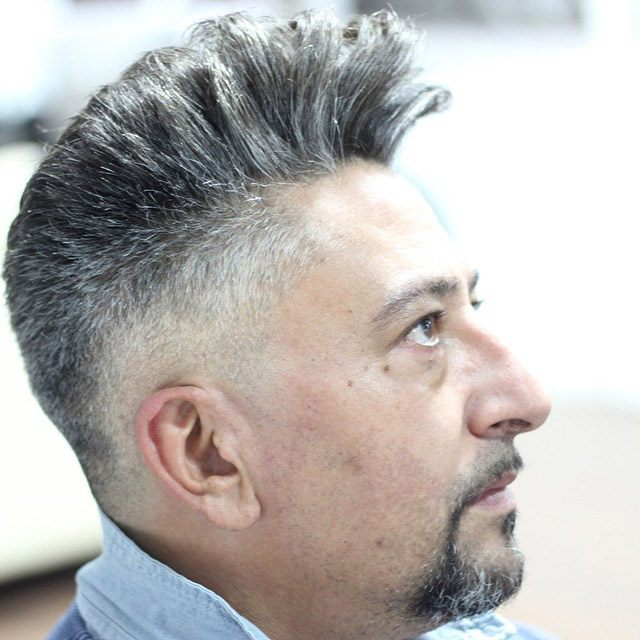 12 Trendy Hairstyles For Men With Gray Hair Hair Clipper Center