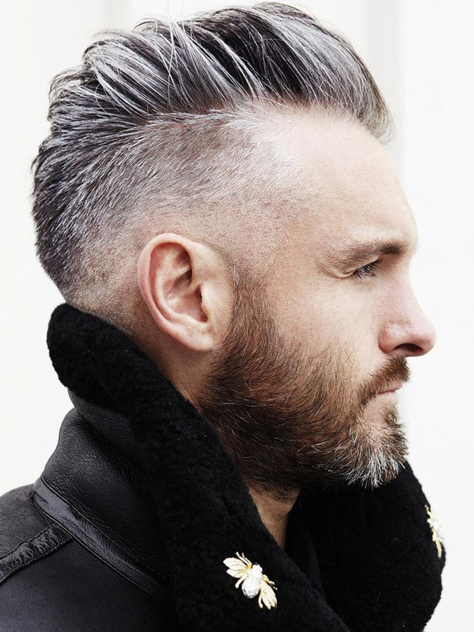 12 Trendy Hairstyles For Men With Gray Hair Hair Clipper