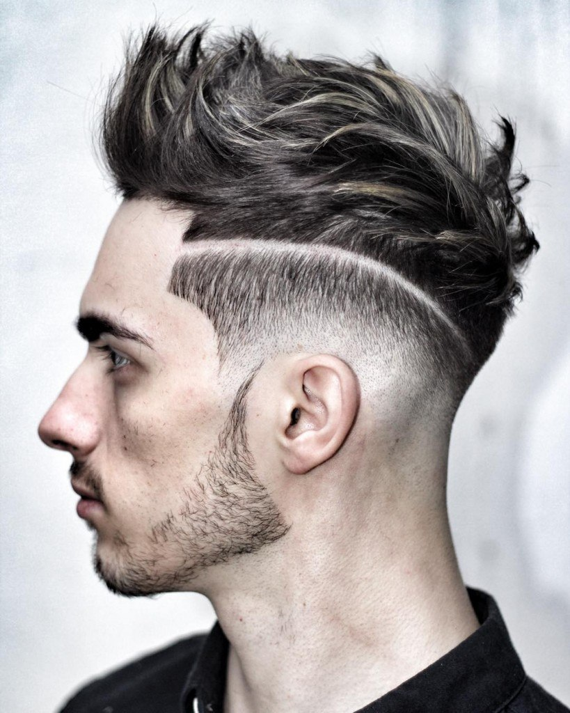 Men's Haircuts for Triangle Face Shape
