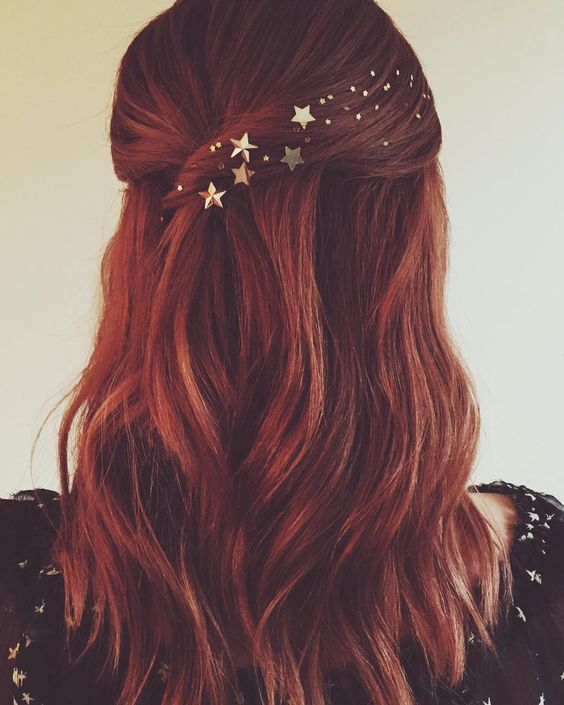 Golden Stars Hair Embellishment