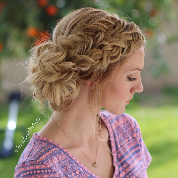 Awe Inspiring Every High School Girl Should Try These Prom Updos For Long Hair Short Hairstyles For Black Women Fulllsitofus