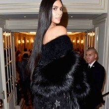 Long Hair Kim Kardashian