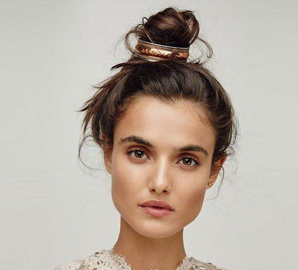 hair bun cuff