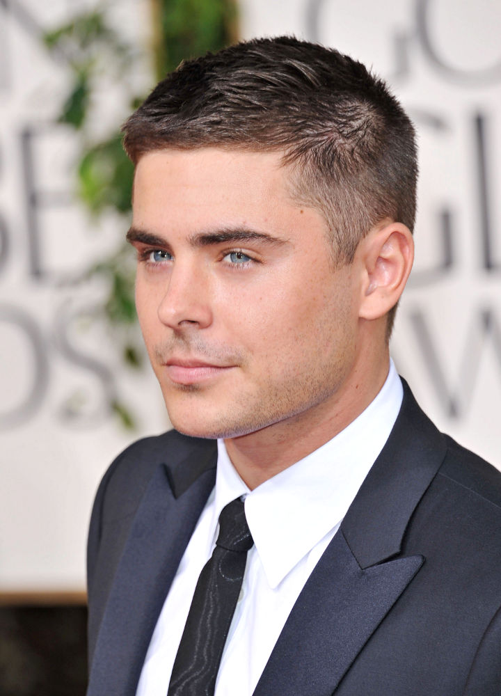 Zac Efron Hairstyle Look Book - Hair Clipper Center