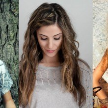Bohemian Hairstyles for girls