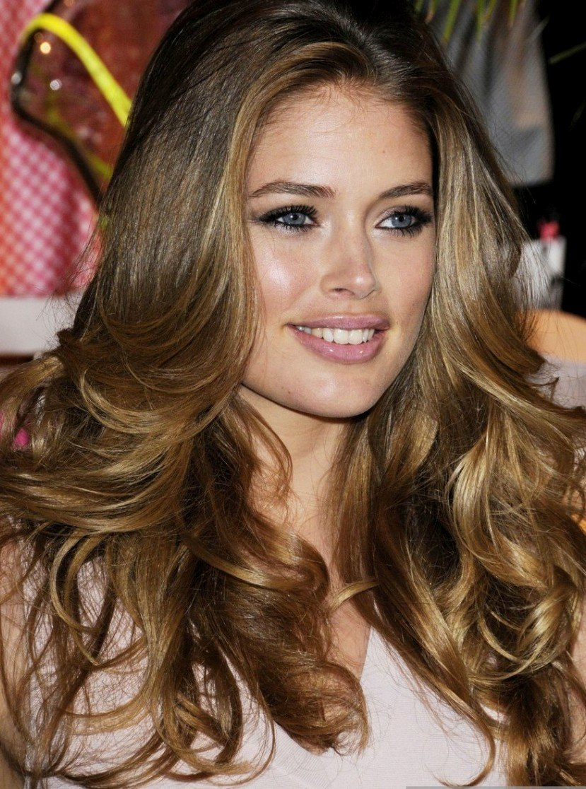 butterscotch hair color highlights