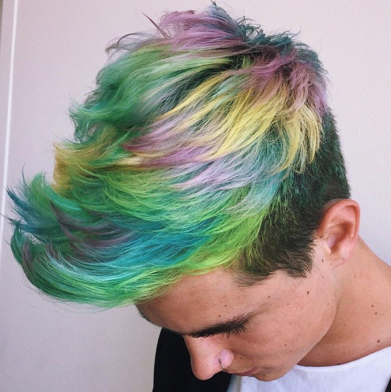 hair color ideas for men