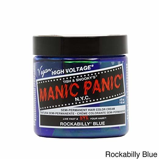 manic panic rockabilly blue