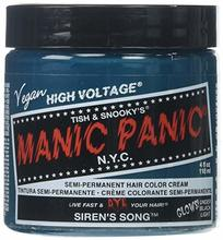 manic panic rockabilly blue siren's song