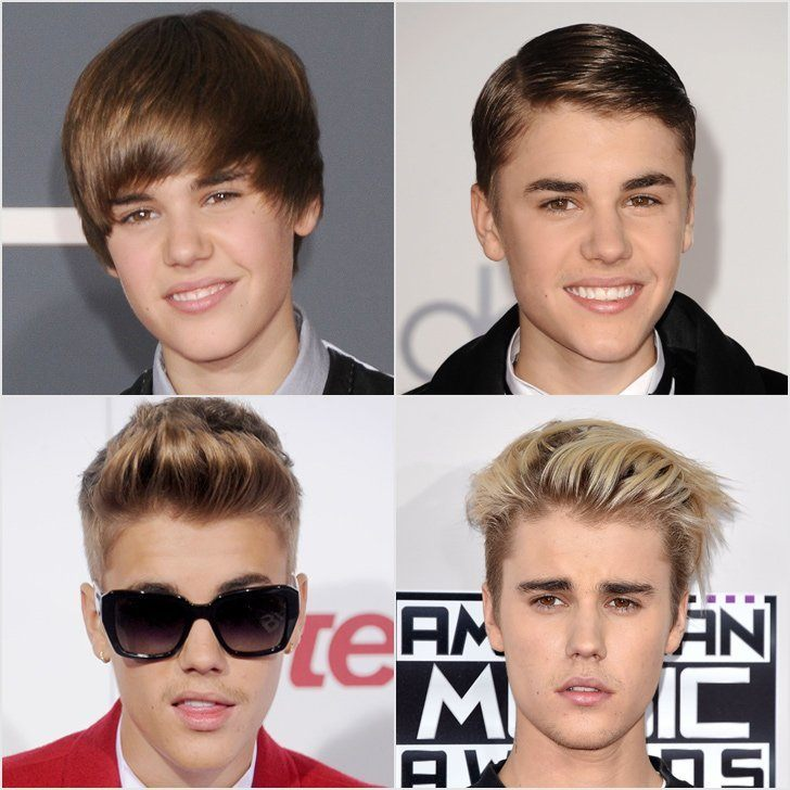 Justin Bieber's hairstyle