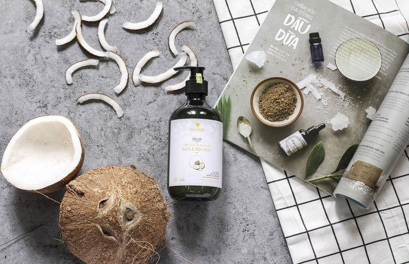 coconut thickening shampoo
