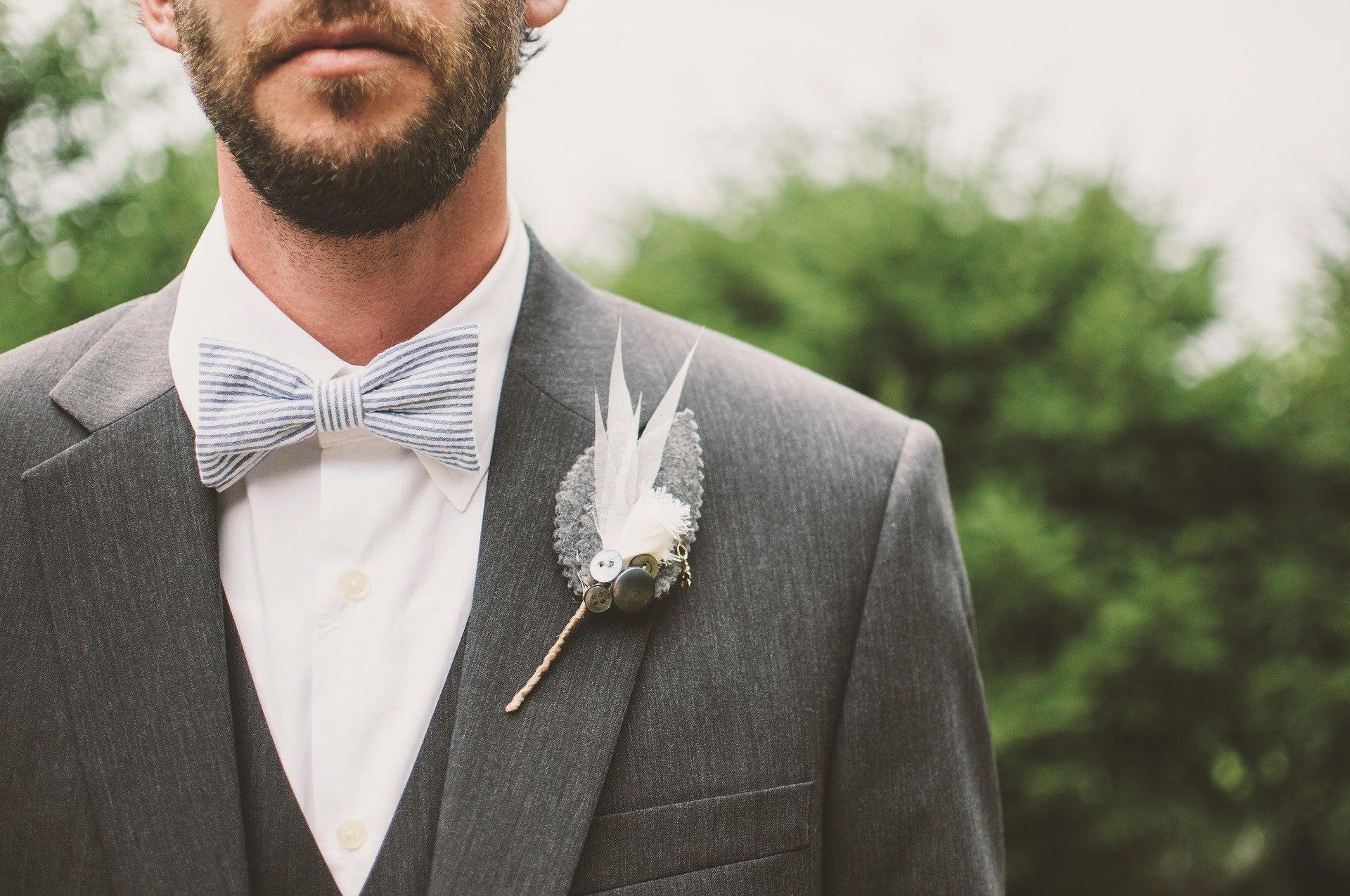 beard bow tie