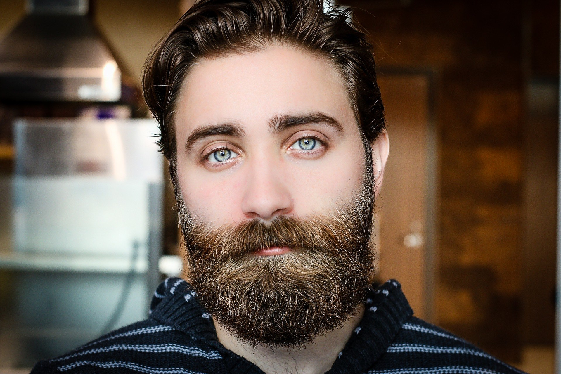 beard face man